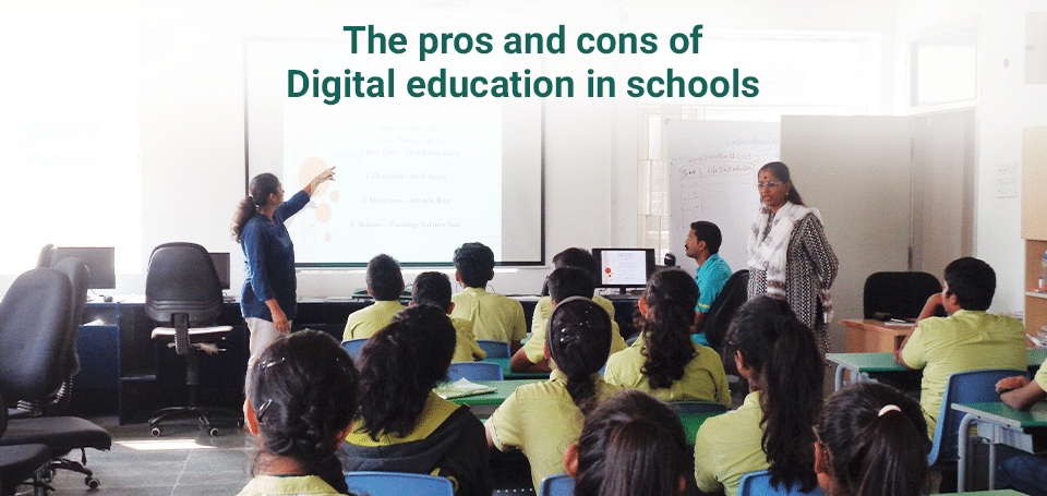 pros and cons of digital education